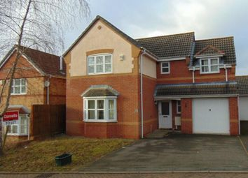 Thumbnail 4 bed detached house to rent in Celandine Close, Oadby, Leicester