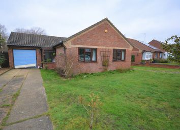 Thumbnail 3 bed detached bungalow for sale in Laxfield Way, Lowestoft, Suffolk