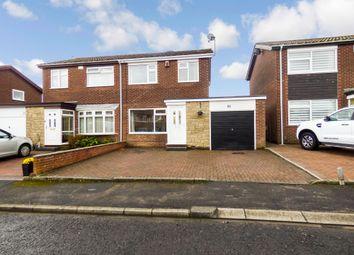 Thumbnail 3 bed semi-detached house for sale in Kirkbride Place, Cramlington
