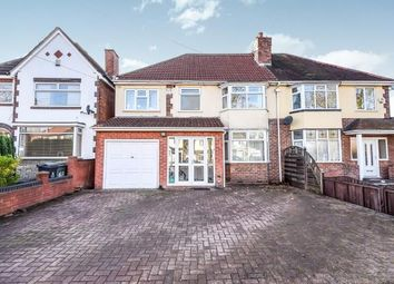 Thumbnail 4 bedroom semi-detached house for sale in Delves Green Road, Delves, Walsall