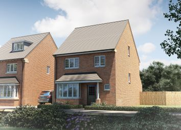 "Thumbnail 4 bed detached house for sale in ""The Hemsley"" at Oakley Wood Road, Bishops Tachbrook, Leamington Spa"
