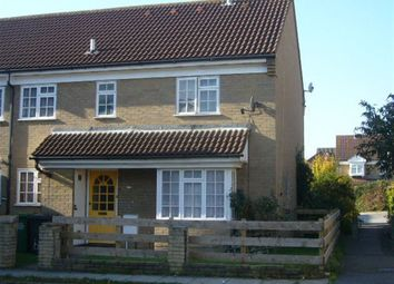 Thumbnail 2 bed property to rent in Dorrington Close, Luton