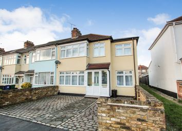 Thumbnail 3 bed end terrace house for sale in Hulse Avenue, Romford