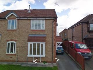 Thumbnail 2 bed semi-detached house to rent in Waters Edge, Scawby Brook, Brigg
