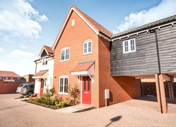 Thumbnail 3 bed terraced house for sale in Wyborne Park, Star Lane, Great Wakering