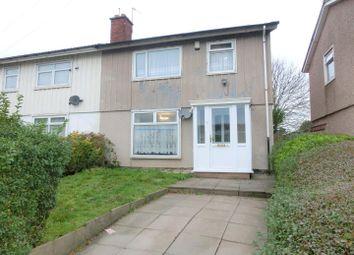 Thumbnail 3 bed semi-detached house for sale in Rodborough Road, Sheldon, Birmingham