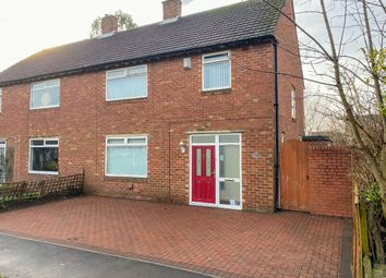 Thumbnail 4 bed semi-detached house for sale in Fairways Avenue, Benton, Newcastle Upon Tyne