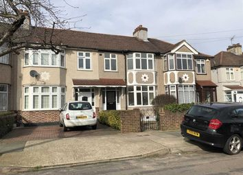 Thumbnail 3 bed terraced house to rent in Belgrave Avenue, Gidea Park, Romford