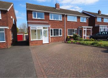 Thumbnail 3 bed semi-detached house for sale in Hundred Acre Road, Sutton Coldfield