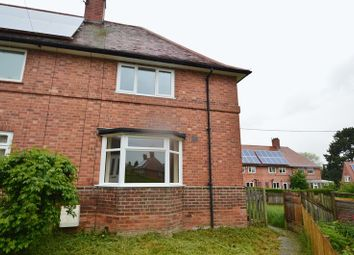 Thumbnail 2 bed end terrace house to rent in Tiverton Close, Aspley, Nottingham