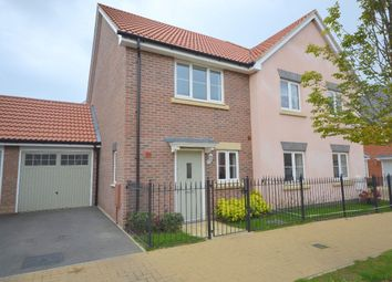 Thumbnail 2 bed semi-detached house for sale in Buckfast Close, Monksmoor Farm, Daventry
