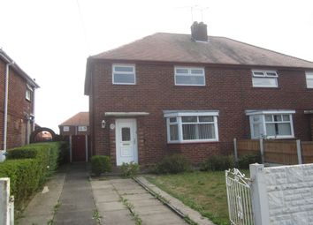 Thumbnail 3 bed semi-detached house to rent in Marshfield Avenue, Crewe