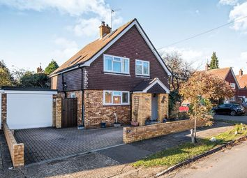 Thumbnail 3 bed detached house for sale in Burchetts Way, Shepperton