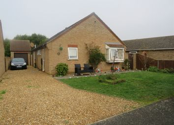 Thumbnail Detached bungalow for sale in Bryony Close, Eastrea, Peterborough