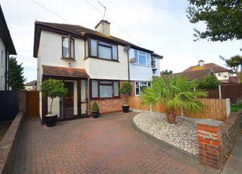 Thumbnail 3 bedroom semi-detached house for sale in Connaught Gardens, Shoeburyness, Southend-On-Sea