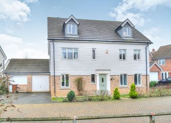 Thumbnail 5 bed detached house for sale in Coronach Close, Norwich