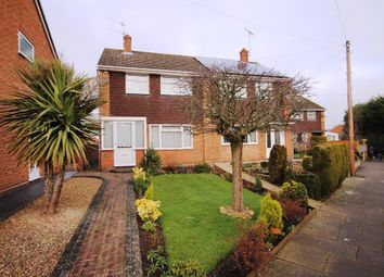 Thumbnail 3 bed semi-detached house for sale in Osier Close, Worcester