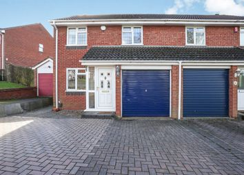 Thumbnail 3 bed semi-detached house for sale in Lisures Drive, Sutton Coldfield