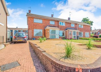 Thumbnail 3 bed end terrace house for sale in Kidwelly Road, Llanyravon, Cwmbran