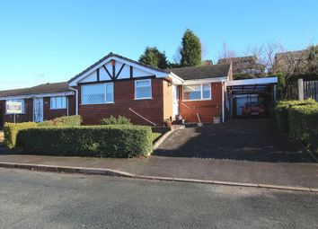 Thumbnail 3 bed detached bungalow for sale in Thames Drive, Biddulph, Stoke-On-Trent