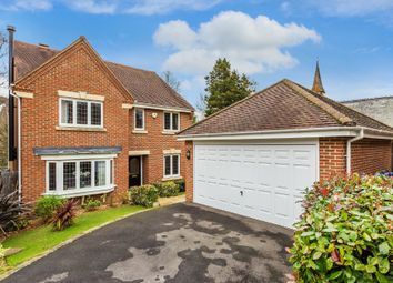 Thumbnail 4 bed detached house for sale in Vicarage Close, Colgate, Horsham, West Sussex
