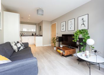 Thumbnail 1 bed flat for sale in Papermill Place, London