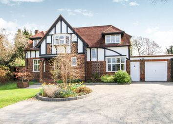 Thumbnail 4 bed detached house for sale in Longdown Lane North, Epsom