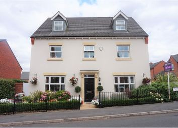 Thumbnail 5 bed detached house for sale in Salford Way, Swadlincote