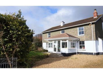 Thumbnail 4 bed detached house for sale in Rising Sun, Callington