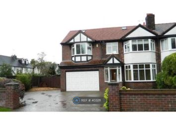 Thumbnail 4 bed semi-detached house to rent in Meadow Lane, Worsley, Manchester