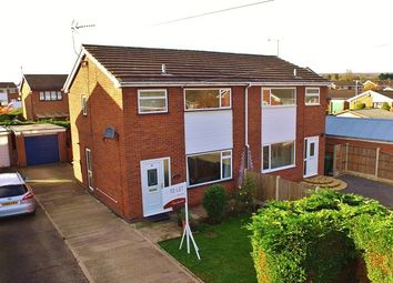 Thumbnail 3 bed semi-detached house for sale in Penllwyn, Johnstown, Wrexham