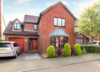 Thumbnail 4 bed detached house for sale in Welsummer Grove, Shenley Brook End, Milton Keynes, Buckinghamshire