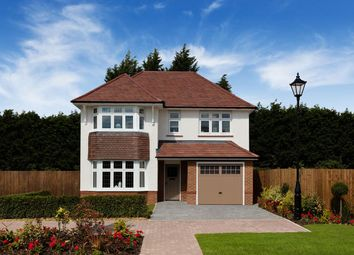 Thumbnail 4 bed detached house for sale in Guinevere Avenue, Stretton, Burton On Trent