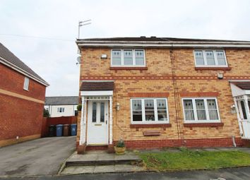 Thumbnail 3 bed semi-detached house for sale in Worsley Street, Pendlebury, Swinton, Manchester
