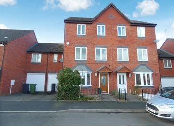 Thumbnail 4 bed town house for sale in Badgers Retreat, Leamington Spa, Warwickshire
