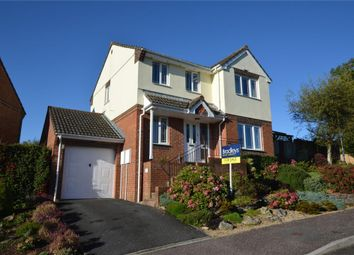 Thumbnail 4 bed detached house for sale in Heron Road, Honiton, Devon