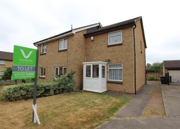 Thumbnail 2 bed semi-detached house to rent in Lincoln Court, Darlington