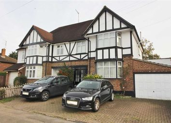 Thumbnail 4 bed semi-detached house for sale in Elmwood Avenue, Borehamwood