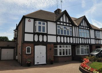 Thumbnail 4 bed semi-detached house to rent in Holders Hill Road, Mill Hill