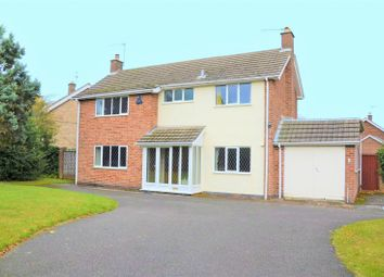 Thumbnail 4 bed detached house for sale in Abbotts Oak Drive, Coalville