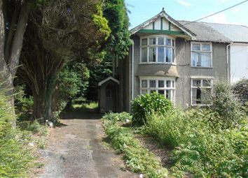 Thumbnail 3 bed semi-detached house for sale in Pontardawe Road, Swansea