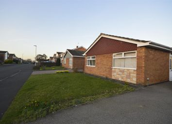 Thumbnail 2 bed detached bungalow to rent in Forest Rise, Oadby, Leicester