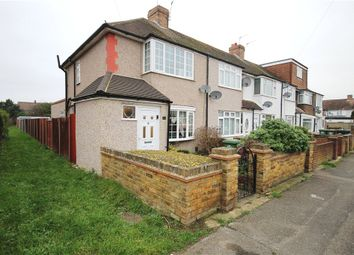 Thumbnail 3 bed end terrace house for sale in Hillingdon Avenue, Staines-Upon-Thames, Surrey