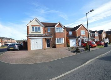 Thumbnail 5 bed detached house for sale in Weymouth Drive, Biddick Woods, Houghton-Le-Spring, Tyne & Wear.