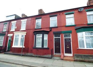 Thumbnail 3 bed terraced house for sale in Wellington Road, Wavertree, Liverpool, Merseyside
