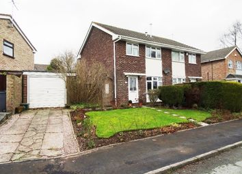 Thumbnail 3 bed semi-detached house for sale in Aldrin Close, Meir Park