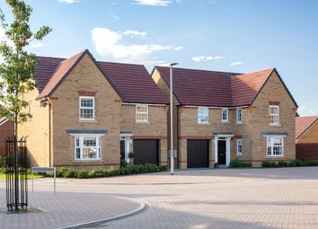 "Thumbnail 4 bed detached house for sale in ""Exeter"" at Trowbridge Road, Westbury"