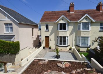 Thumbnail 5 bed semi-detached house for sale in Boundary Road, Torquay