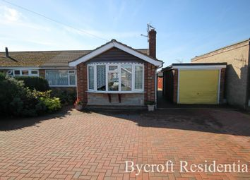 Thumbnail 3 bed semi-detached bungalow for sale in Meadow Rise, Hemsby, Great Yarmouth