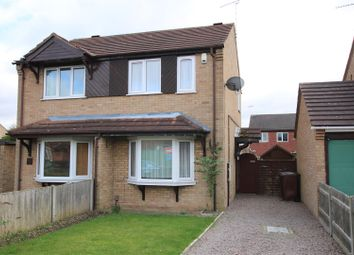 Thumbnail 2 bed semi-detached house for sale in Elsham Crescent, Lincoln
